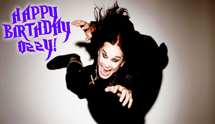 Happy Birthday Ozzy Ozbourne!