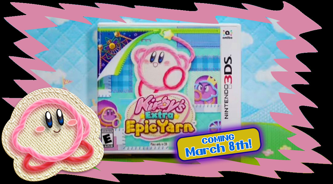 Kirby's Epic Yarn for 3DS