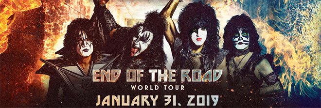 Kiss Farewell Tour 2019