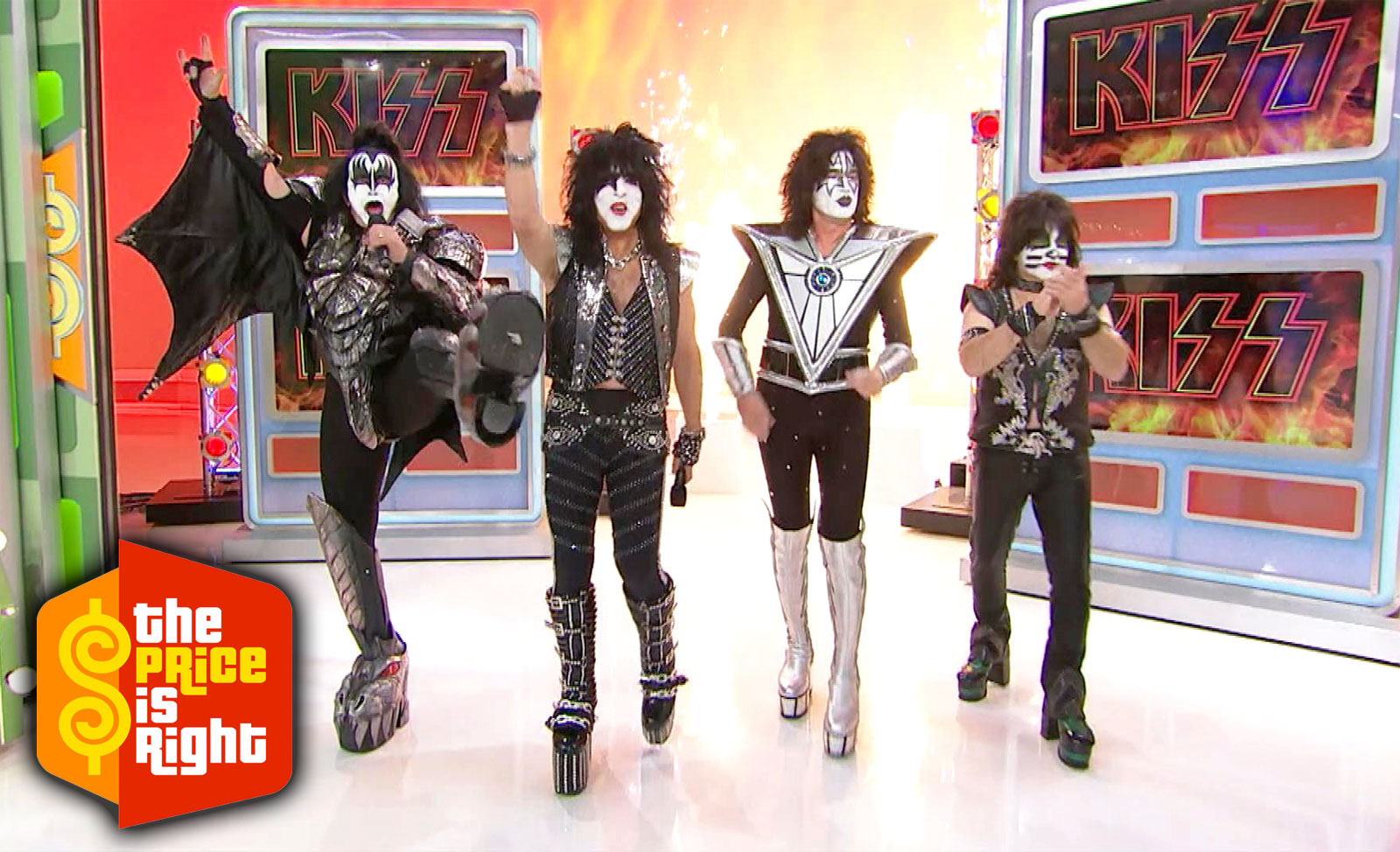 Kiss appearance on The Price Is Right