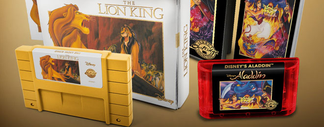 iam8Bit Aladdin and Lion King games