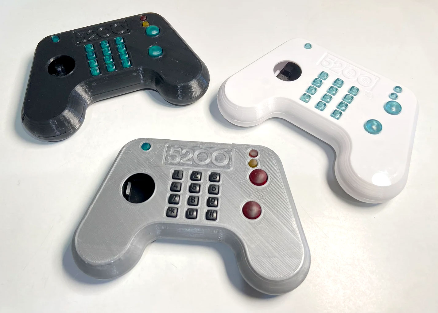 Maker Matrix's Atari 5200 controller