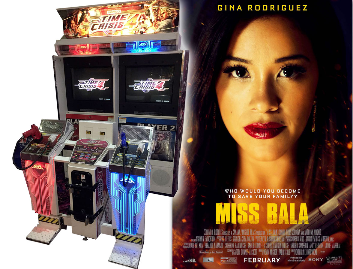 Played Time crisis 4 int the movie theater arcade before watching Miss Bala