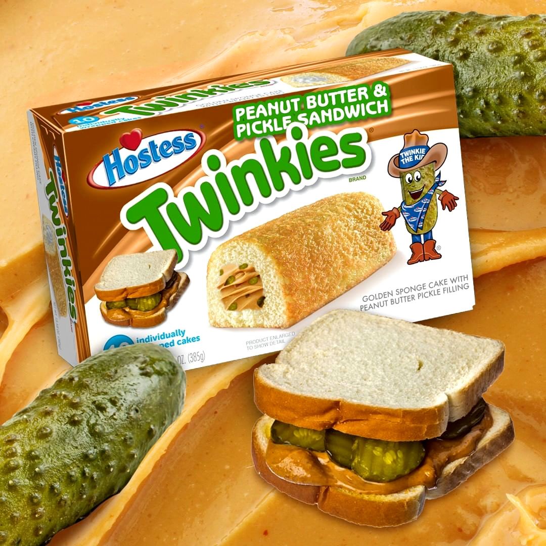 Peanut butter Pickle flavored Twinkies