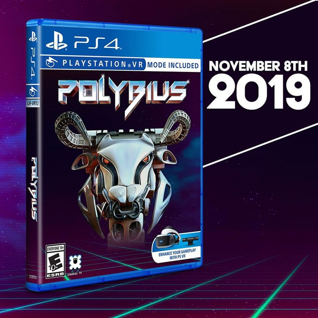 Jeff Minter's Polybius on physical media