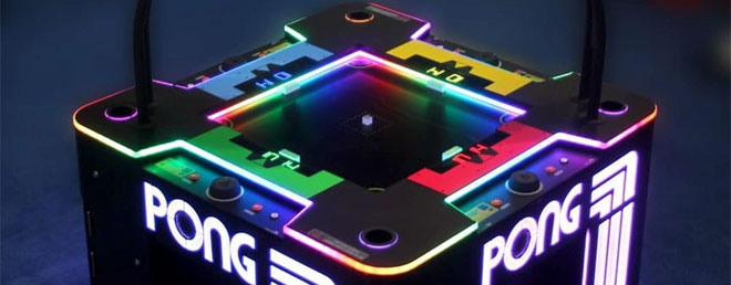 4-player Pong Knock Out