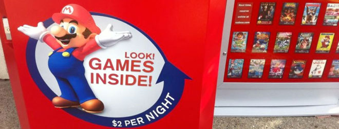 No more Redbox video game rentals