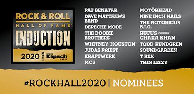 Rock & Roll Hall Of Fame 2020 nominees