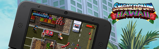 Shakedown Hawaii is coming to 3DS