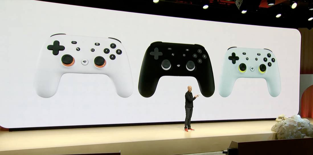 Google Stadia announcement at GDC