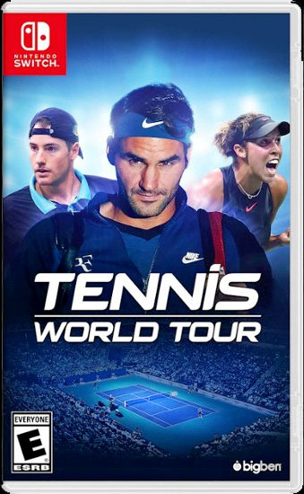 Bigben Interactive's World Tour Tennis