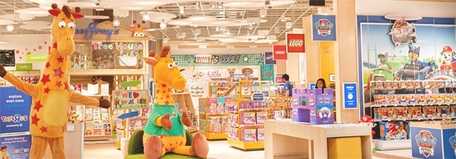 The Westfield Garden State Plaza gets a new Toys R Us