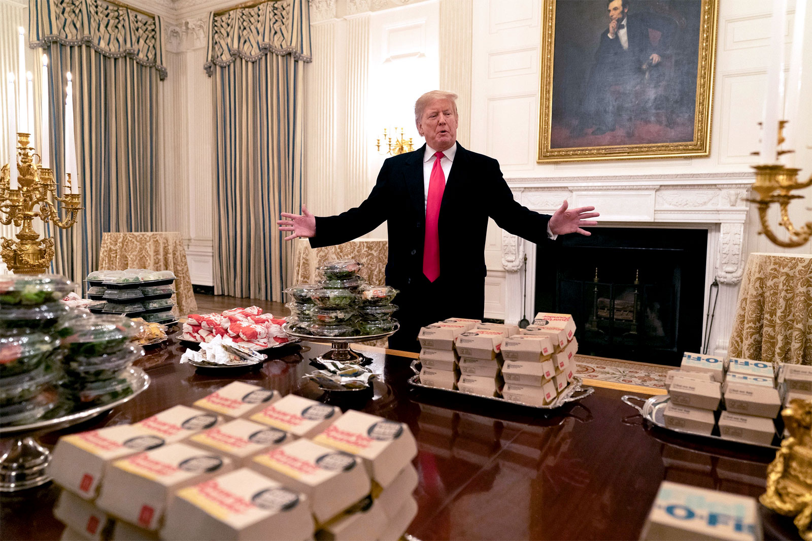 junk food at te White House