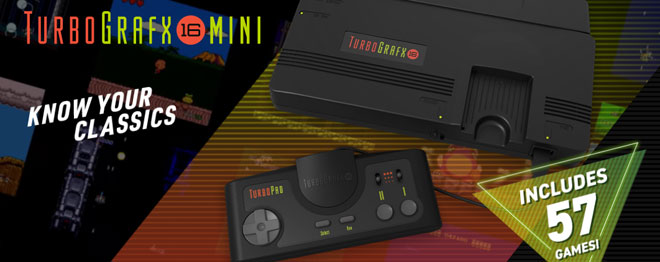 TurboGrafx Minis game list expands to 57