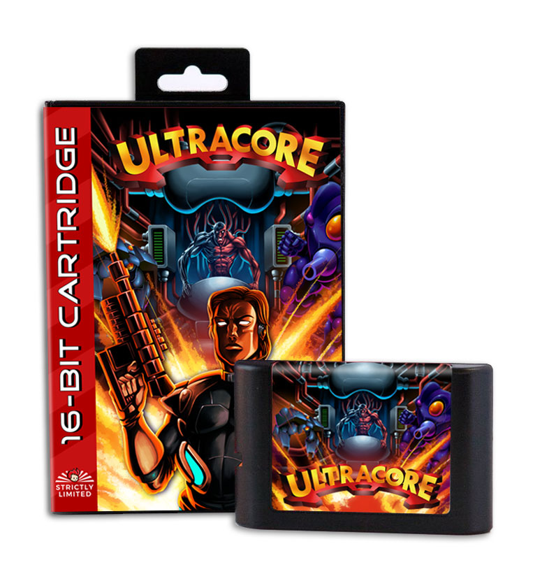 DICE's Ultracore game for Genesis