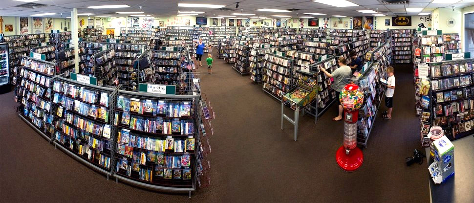 Video rental stores were awesome