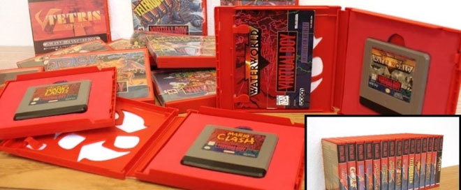 Custom Game Cases for Virtual Boy games