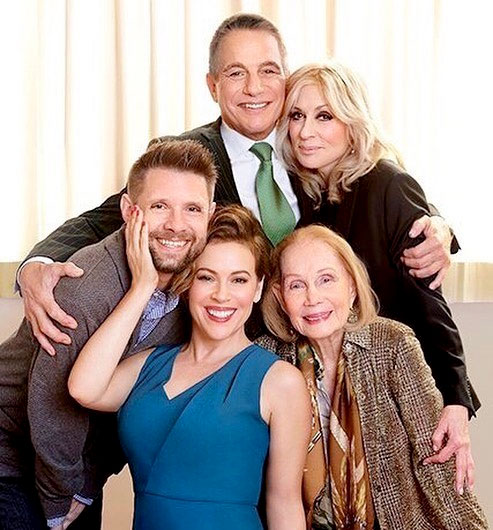 Katherine Helmond at a recent Who's The Boss reunion