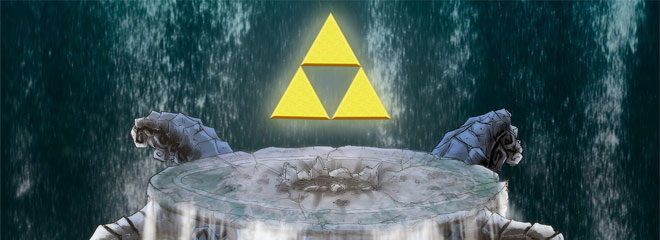 Legend of Zelda Helmarock Metal