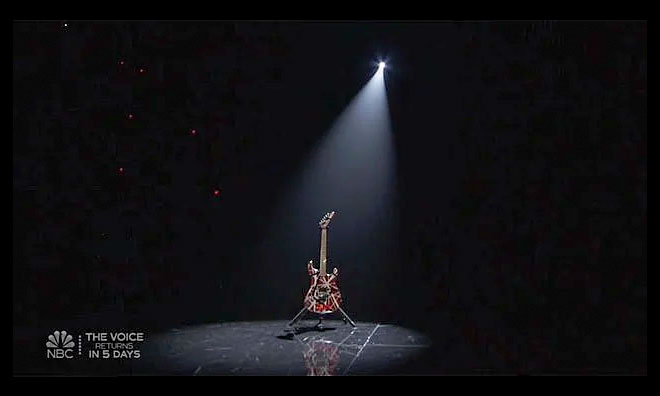 Eddie Van Halen tribute at the 2020 Billboard Music Awards