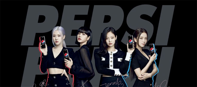 Blackpink featured in Pepsi ads
