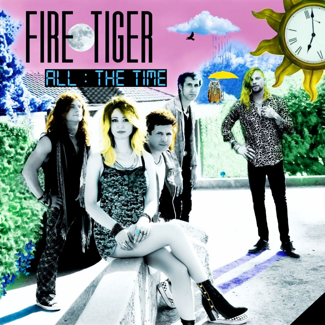 Fire Tiger's new album All The Time