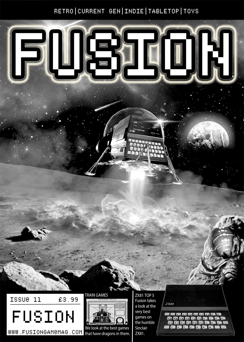 Issue #11 of Fusion Magazine