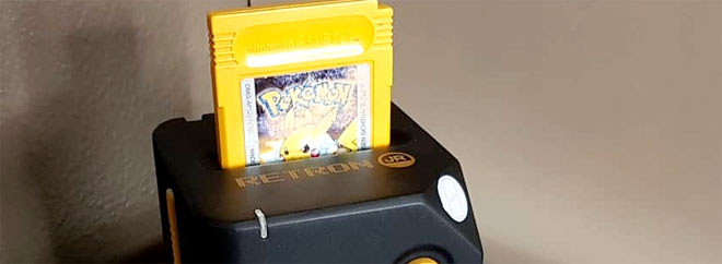 Hyperkin's Retron Jr. for Game Boy, Game Boy Color, and Game Boy Advance