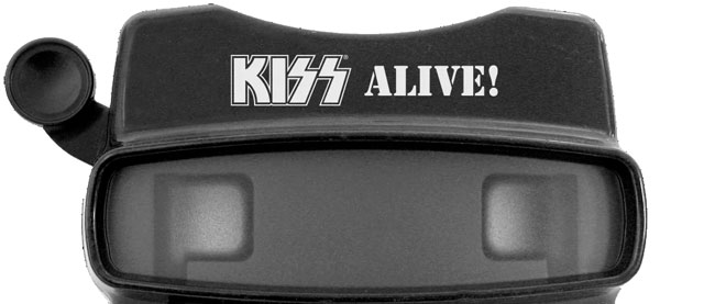 Kiss Alive Viewmaster and picture discs