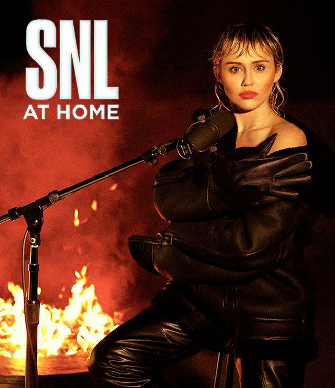 Miley Cyrus on SNL At Home