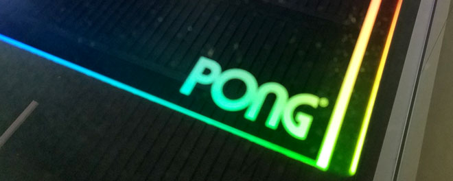 My local arcade removed their Atari Pong Table