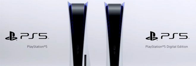 Sony PS5 editions