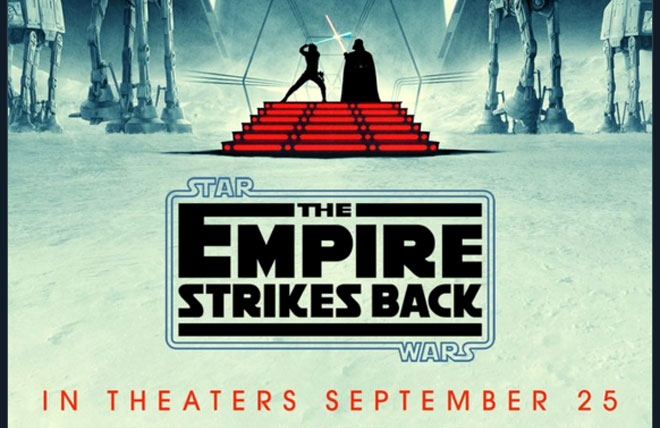 Reagal is showing Empire Strikes Back