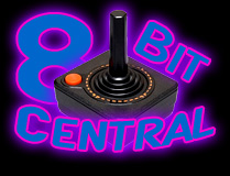 8 Bit Central classic retro gaming logo