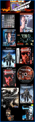 Terminator games and movies