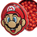 Mario Face candy tin
