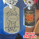Super Mario Bros. Deluxe Dog Tags