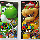 Super Mario Bros. Dog Tags