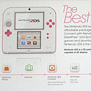 Peach Pink Nintendo 2DS box
