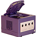 Nintendo GameCube - open CD compartment
