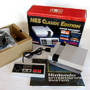 Nintendo NES Classic Edition console box and packaging