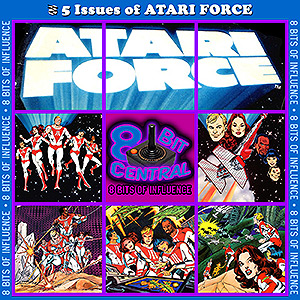 5 Issues of ATARI FORCE