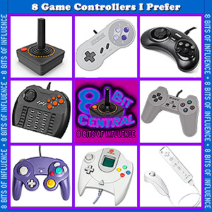 8 Game Controllers I Prefer