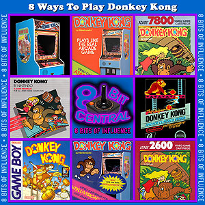 8 Ways To Play Donkey Kong