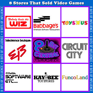 8 Stores That Sold Video Games