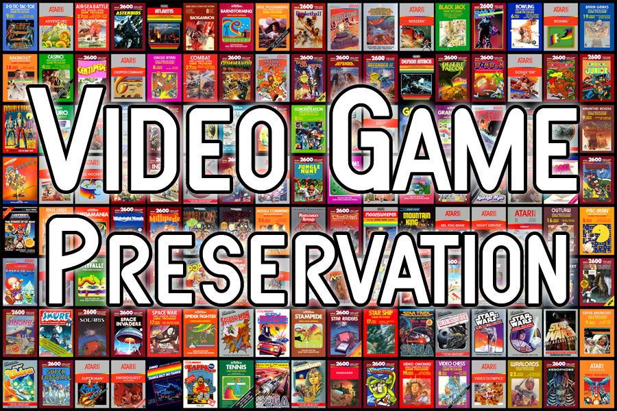 Retro Gaming Preservation