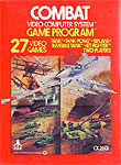 Atari Combat for Atari 2600 Classic Retro Gaming Video Game Review
