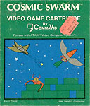 CommaVid's Cosmic Swarm for Atari 2600 Classic Retro Gaming Video Game Review