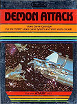 Imagic Demon Attack for Atari 2600 Classic Retro Gaming Video Game Review
