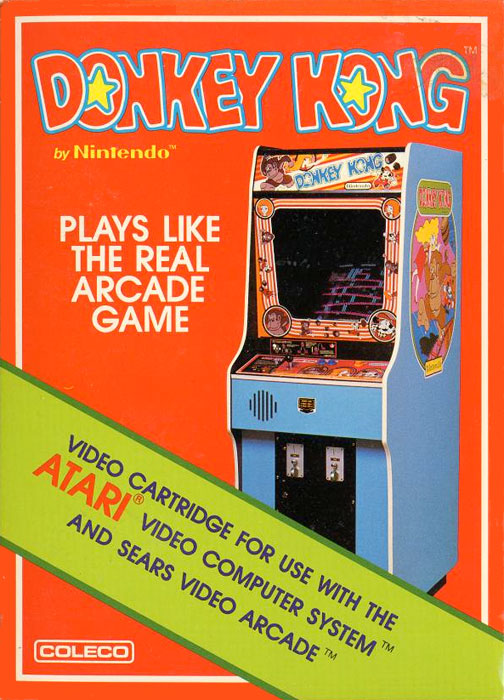 Coleco Donkey Kong for Atari 2600 Classic Retro Gaming Video Game Review